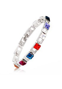 OUXI Red Dust Bracelet (Platinum)