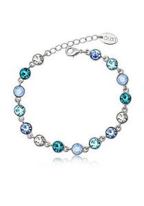 OUXI Crystal Bracelet - 30202 (Aquamarine)