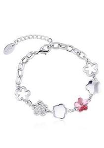OUXI Plum Blossom Bracelet (Rose)