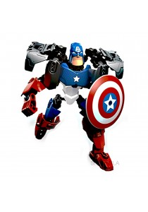 3D Super Heroes Captain American Building Blocks Assembly Toy