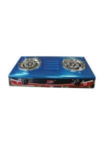 Stainless Steel 8-Jet Double Gas Cooker XMA-308SG