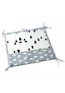 Baby Diaper Nursery Bed Hanging Storage Bag - Trees