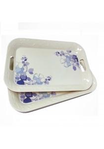 Idea Melamine Serving Trays Plastic 6 Pieces (16.5 inch)