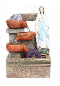 Christian Water Fountain Lx3373 Table Top Water Features Decoration