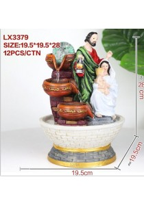 Christian Water Fountain Lx3379 Table Top Water Features Decoration