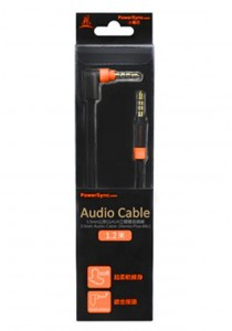 Powersync 3.5mm Audio Cable 1.2M (Stereo-Plus-Mic)