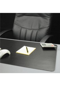 BLACK Desk Pad Table Map or Suitable For Mouse Pad - (Black, Non slippery, Water proof, Look Professional)