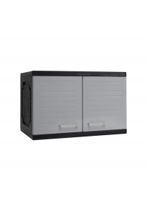 nesthouz.com Optimus Add On Cabinet in Grey/Black Colour