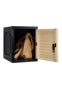 nesthouz.com Optimus Cube With Lock in Beech/Black colour