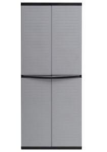 nesthouz.com Large Wardrobe in Grey/Black Colour