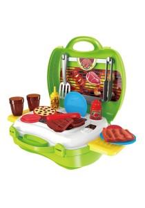 Dream BBQ Making Suitcase Children's Pretend Play Set