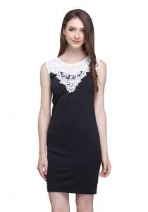 Angel Court Sleeveless Round Neck Midi Dress AC38-5259