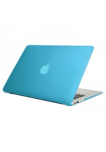 Crystal Case for Macbook Air 13.3 Front & Back - Light Blue