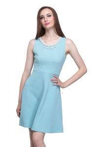 Angel Court Sleeveless Round Neck Midi Dress AC38-5262
