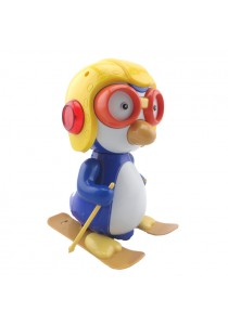 BO Baby Toy Happy Penguin Skiing Toy With Music & Light