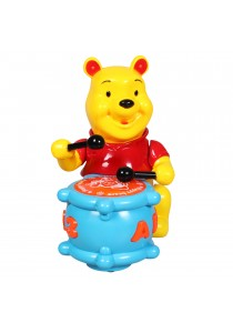Happy Winnie The Pooh Play Drum Baby Toy WIth Light & Music
