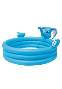 Bestway 3 Ringed Elephant Inflatable Interactive Pool