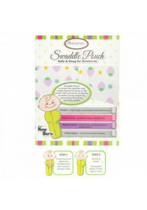 Autumnz Swaddle Pouch (Strawberry Lilac)