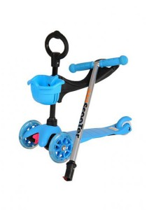 FASHION TEE Foot Scooter (Blue)