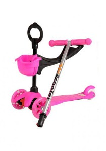 FASHION TEE Foot Scooter (Pink)