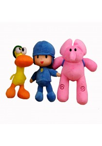 Pocoyo and Friends Soft Toy - Set of 4