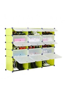 Tupper Cabinet 5 Tier 15 Cubes Fruit Green DIY Shoe Rack