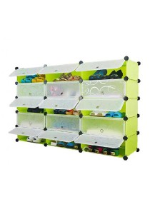 Tupper Cabinet 5 Tier 15 Cubes Fruit Green DIY Shoe Rack Fruit Green