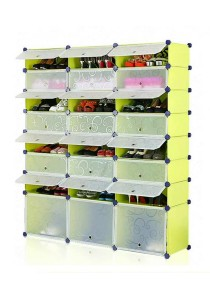 Tupper Cabinet 8 Tier 24 Cubes Fruit Green DIY Shoe Rack