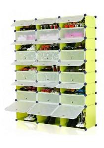 Tupper Cabinet 9 Tier 27 Cubes Fruit Green DIY Shoe Rack