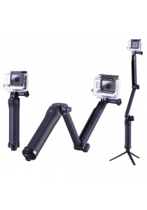 3-Way Monopod Grip Arm Tripod Stand Camera For XiaoMi Yi GoPro SJCAM