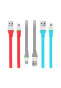 PROLiNK PUC100 Micro USB Charging Data Cable With LED For Android Phone (3 Pieces)
