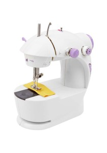 4 in 1 Mini Sewing Machine (Purple)