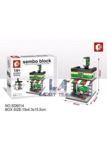 Sembo Block SD6014  7-11 mini street city building blocks (Lego Compatible)