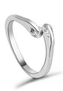 OUXI Shiny Fingers Ring (Size 10)