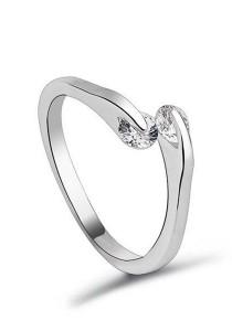 OUXI Shiny Fingers Ring (Size 13)