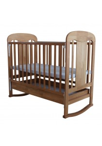 Royalcot R403 D+R Baby Cot Honey