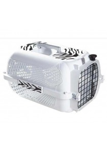 Catit Style Profile Voyageur Cat Carrier - White Tiger - Medium 56.5 cm L x 37.6 cm W x 30.8 cm H