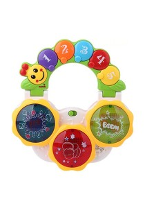 Happytime Functional Hand Clapping Drum Music Instrument Learning Electronic