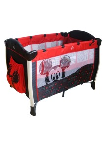 Baby Mickey Playpen with Mosquito Net