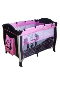 Baby Minnie Playpen with Mosquito Net