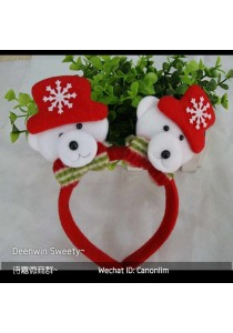 Christmas Hairband with LED - B