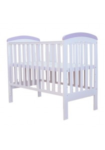 Royalcot R459 Baby Cot White-Purple
