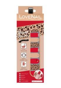 LoveNail Instant Nail Applique Design Manicure Ladies Sexy Leopard
