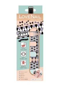 LoveNail Instant Nail Applique Design Manicure Romantic Anniversary