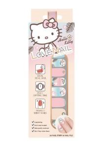 LoveNail Instant Nail Applique Hello Kitty Sea Island