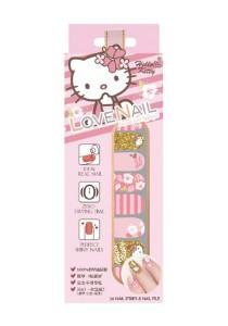 LoveNail Instant Nail Applique Hello Kitty Hibiscus