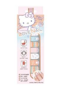 LoveNail Instant Nail Applique Hello Kitty Beach