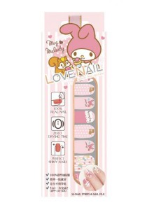 LoveNail Instant Nail Applique My Melody Afternoon Tea