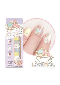LoveNail Instant Nail Applique Little Twin Stars Limited