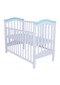 Royalcot Baby Cot R473 White Blue